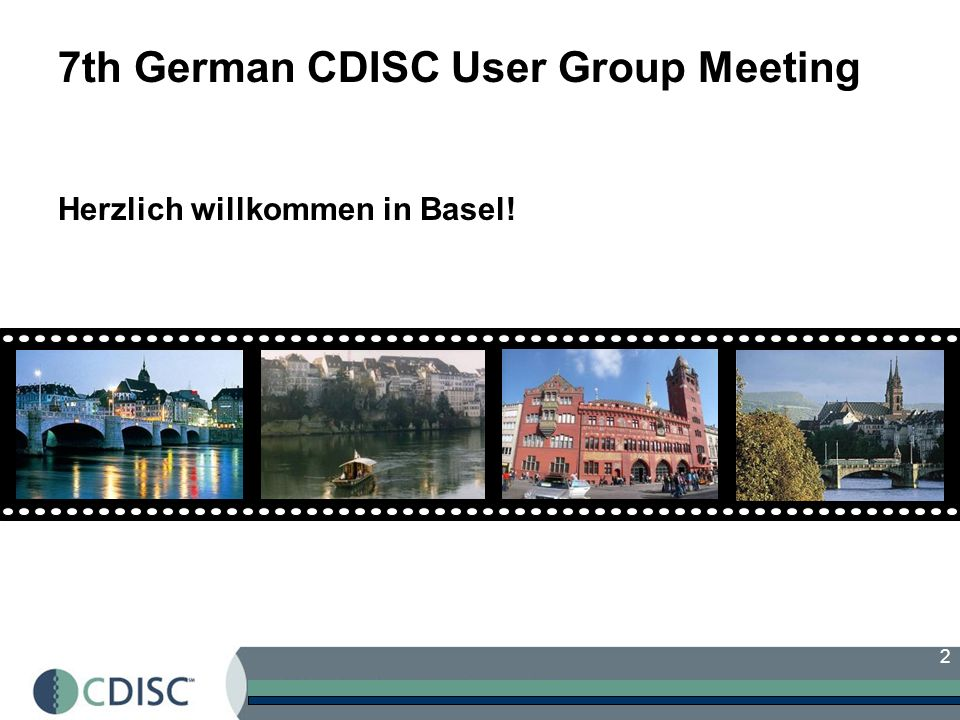 7th German CDISC User Group Meeting