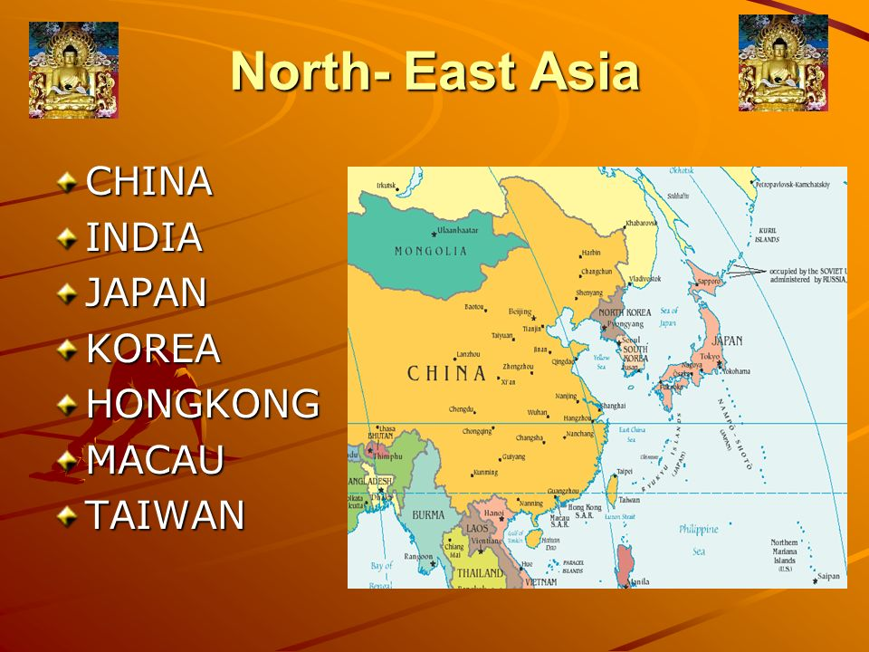 North East Asia and Indian Culture - ppt video online download
