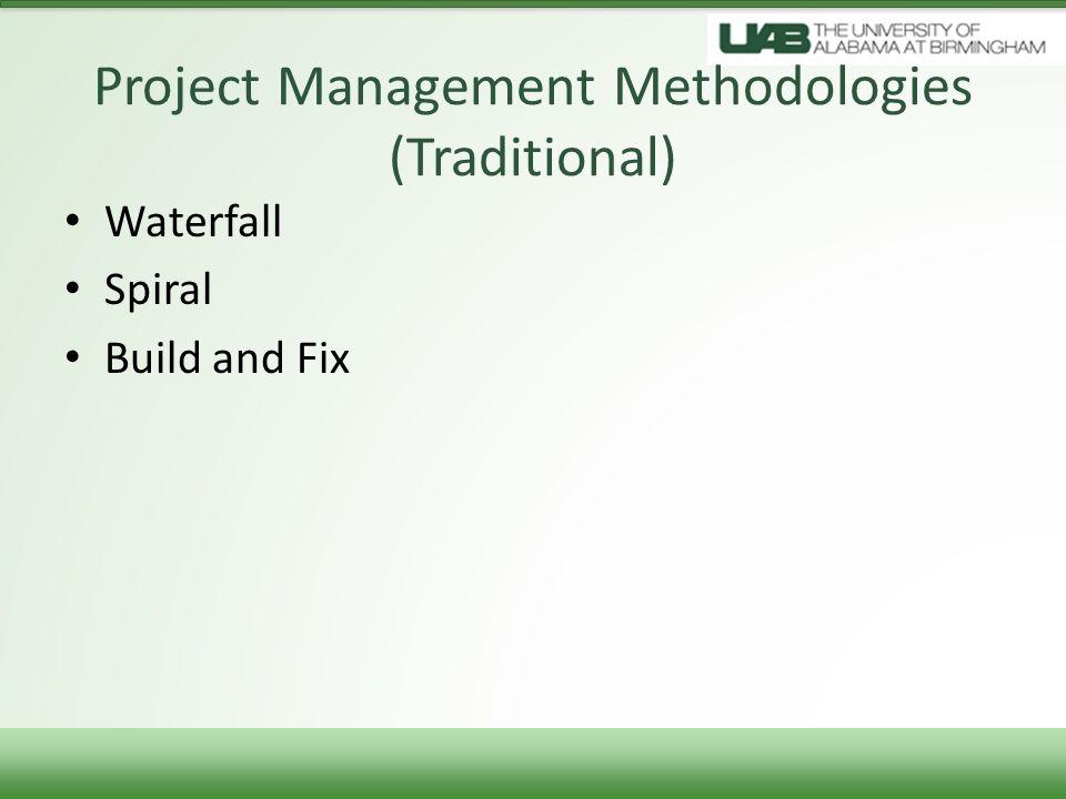 it project management methodologies pdf