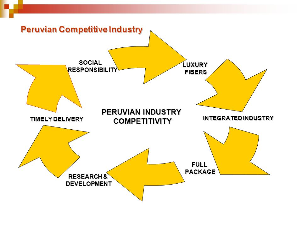 Peruvian Competitive Industry