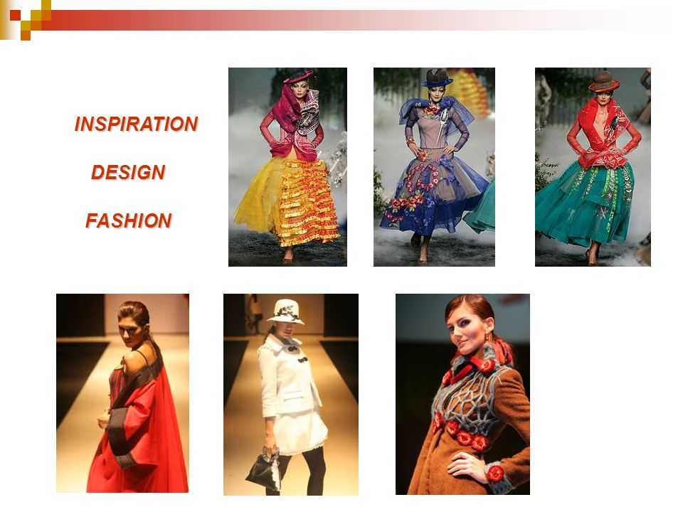 INSPIRATION DESIGN FASHION