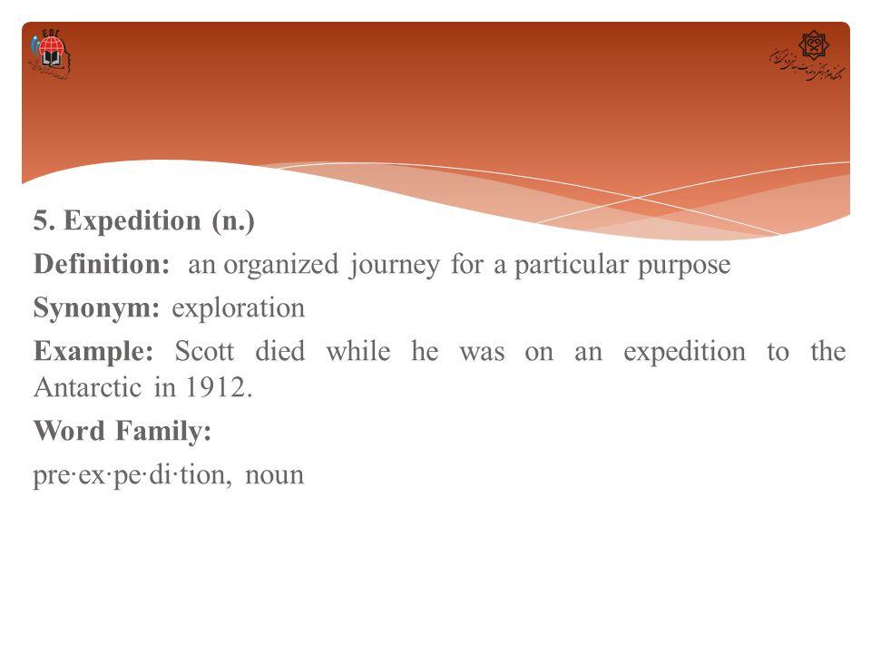 Organized Family Synonym