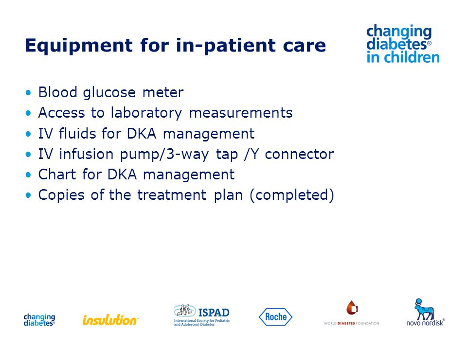 Equipment for in-patient care