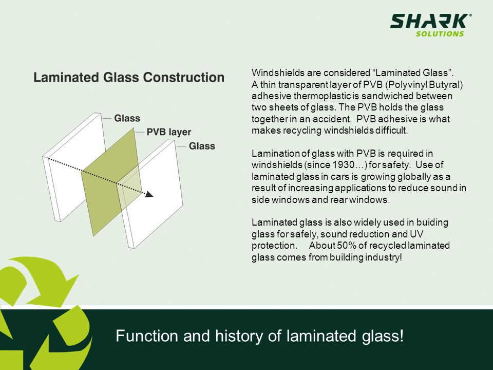 Function and history of laminated glass!