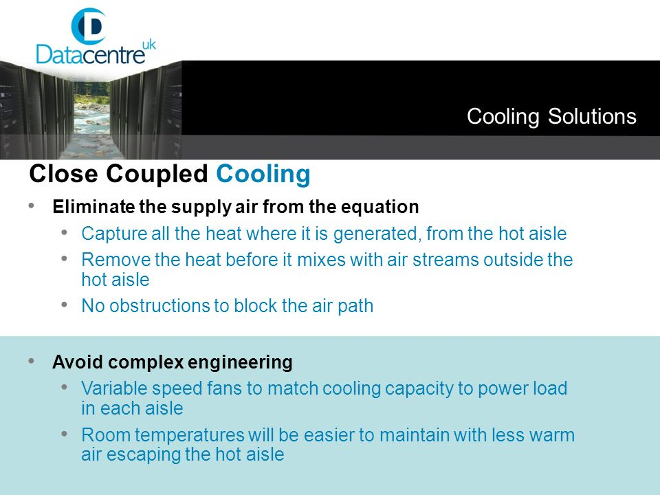 Close Coupled Cooling Cooling Solutions