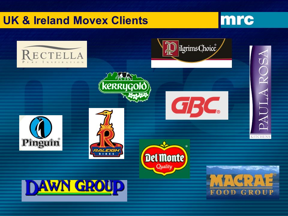 UK & Ireland Movex Clients