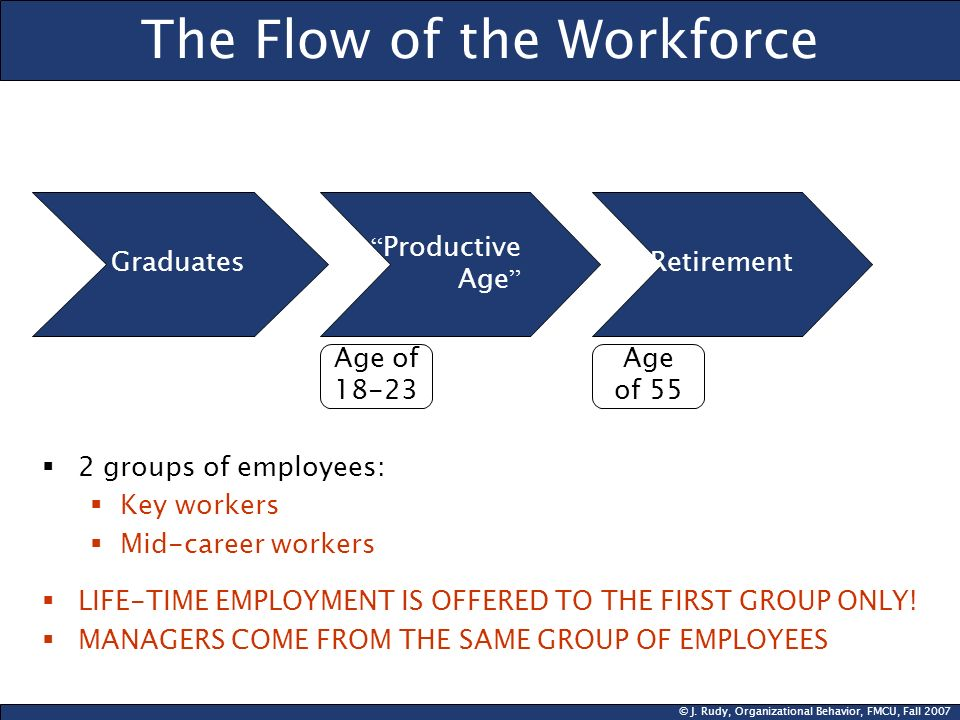 The Flow of the Workforce