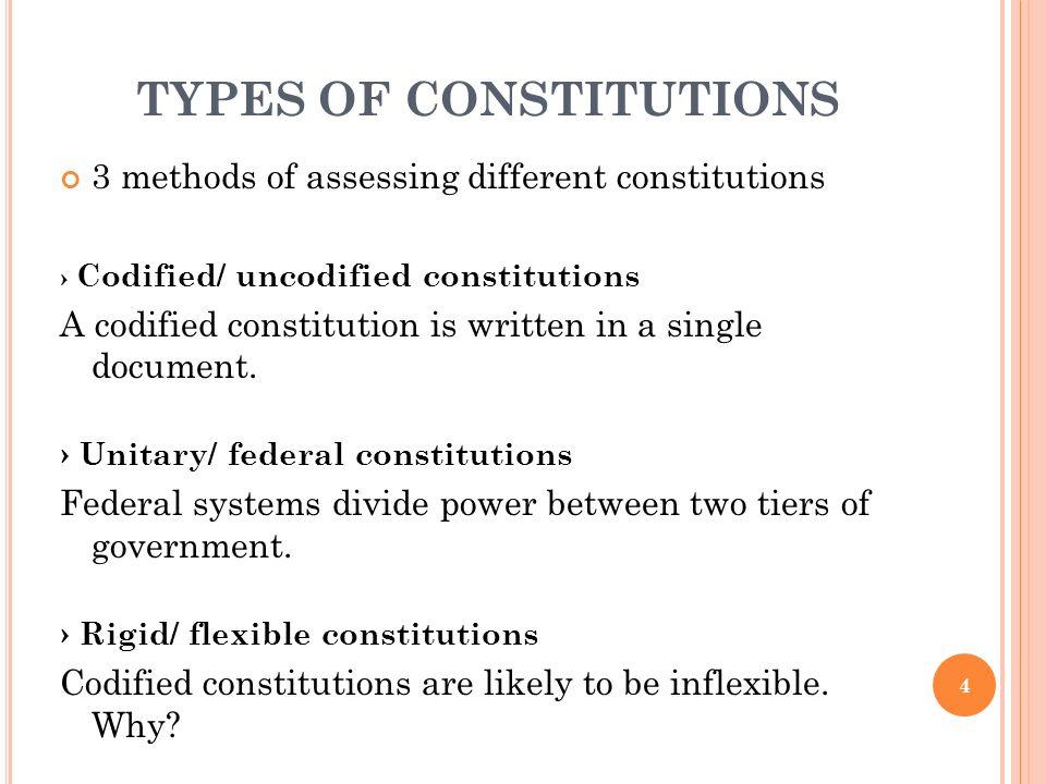 flexibility in constitutions schrauwen a