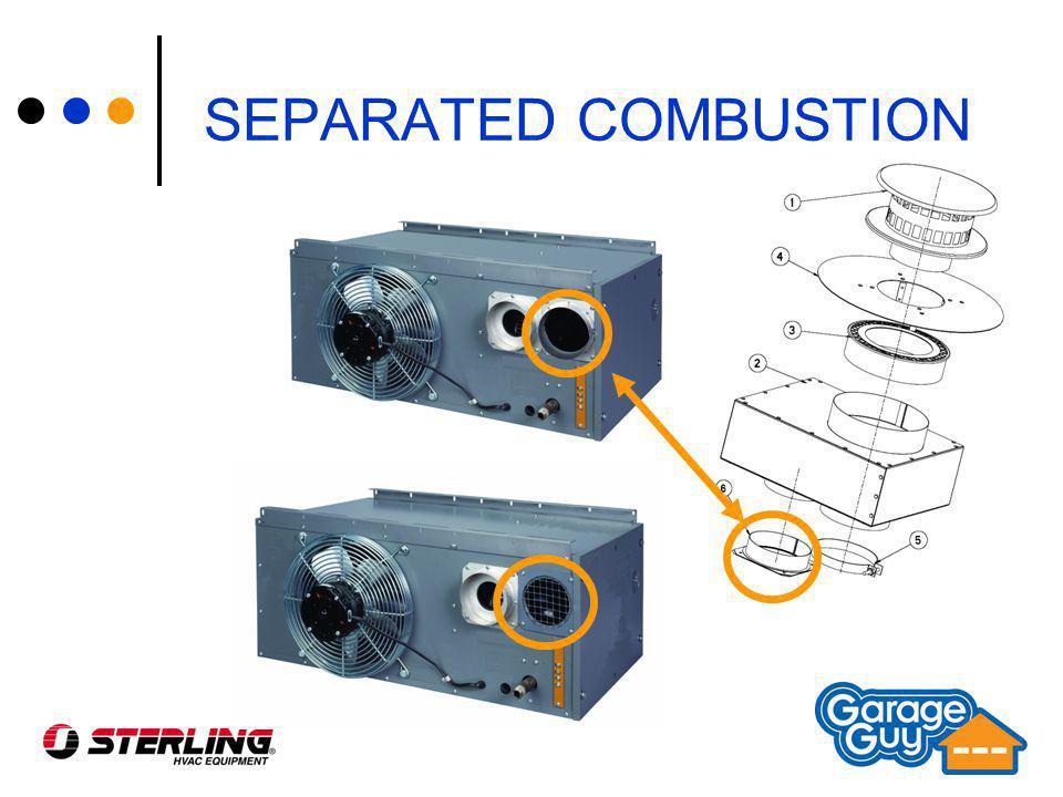 Separated Combustion Garage Heater Dandk Organizer