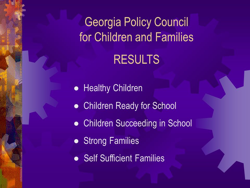 Georgia Policy Council for Children and Families