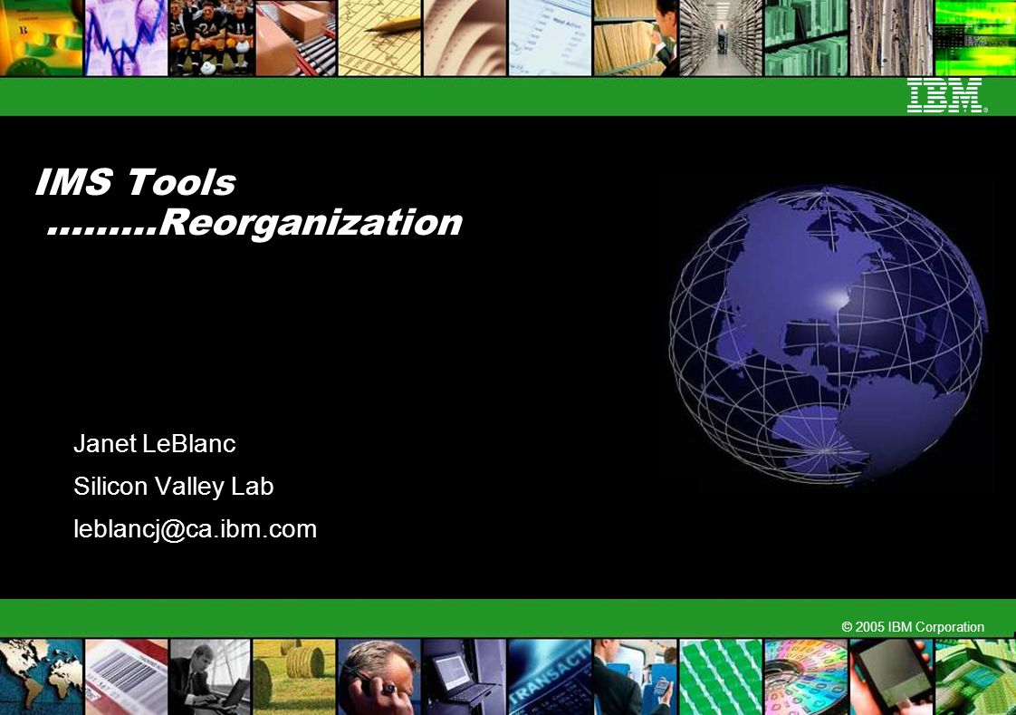 IMS Tools ………Reorganization