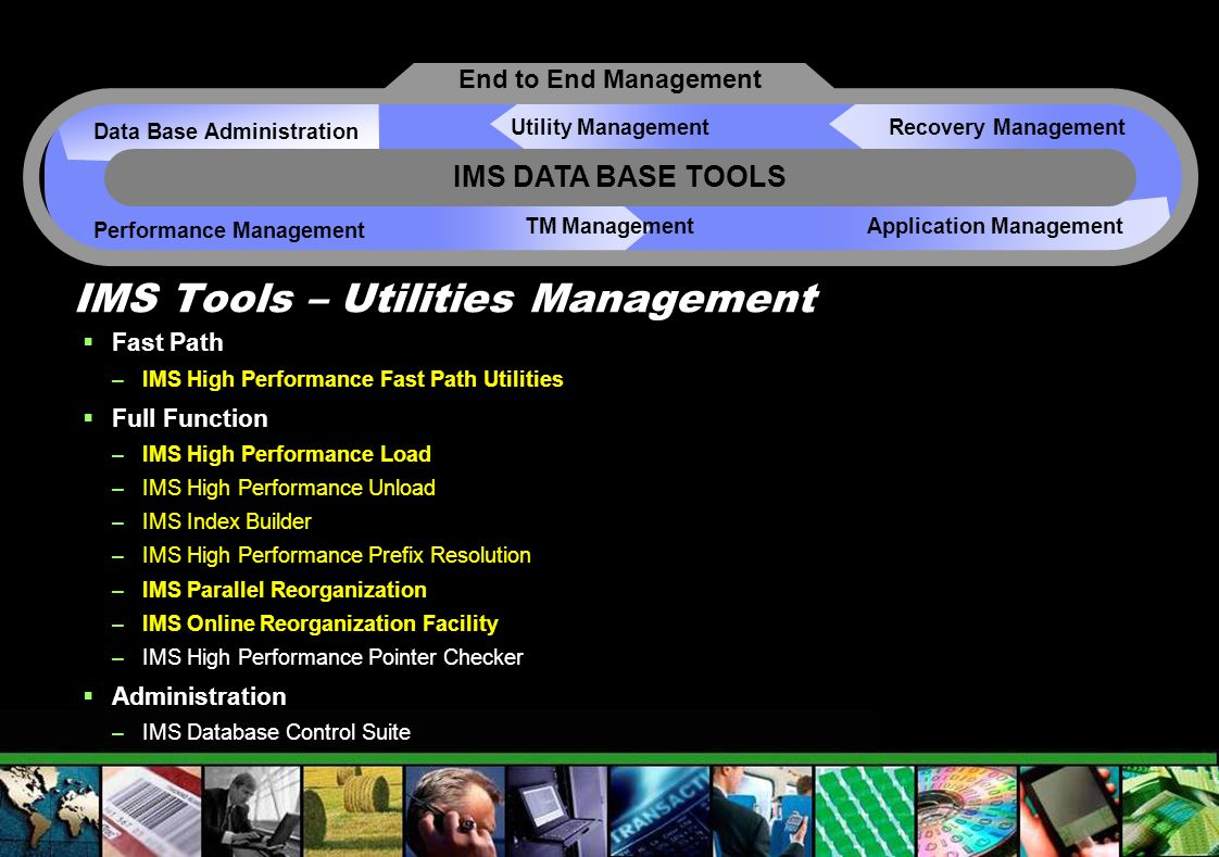 IMS Tools – Utilities Management