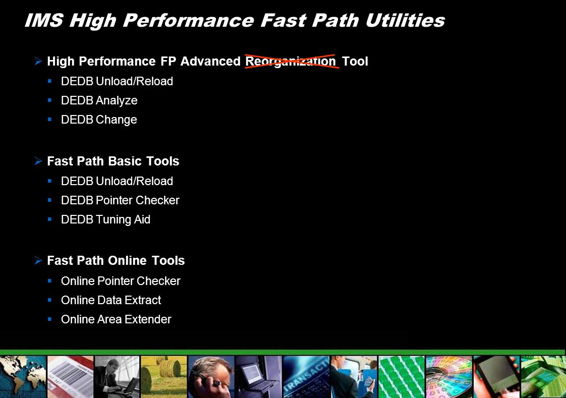 IMS High Performance Fast Path Utilities