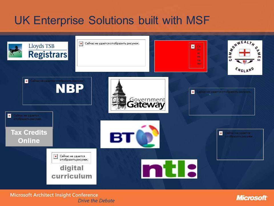 UK Enterprise Solutions built with MSF
