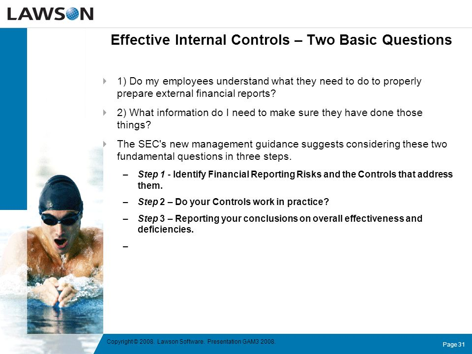 Effective Internal Controls – Two Basic Questions