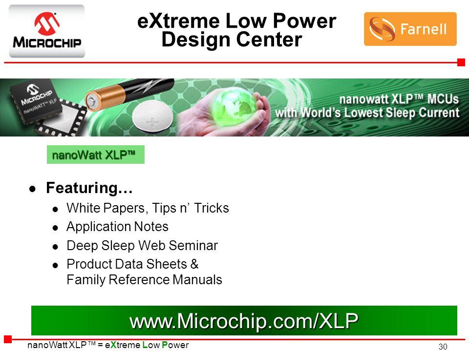 eXtreme Low Power Design Center