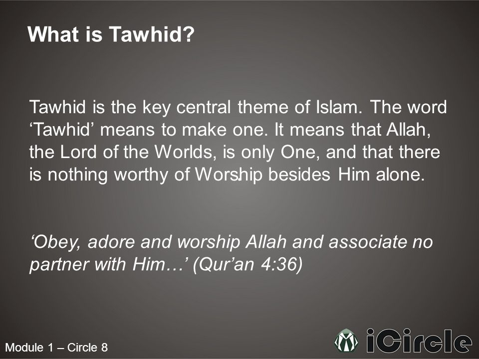 What is Tawhid
