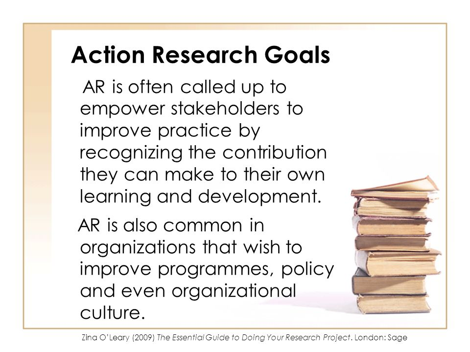 Action Research Goals