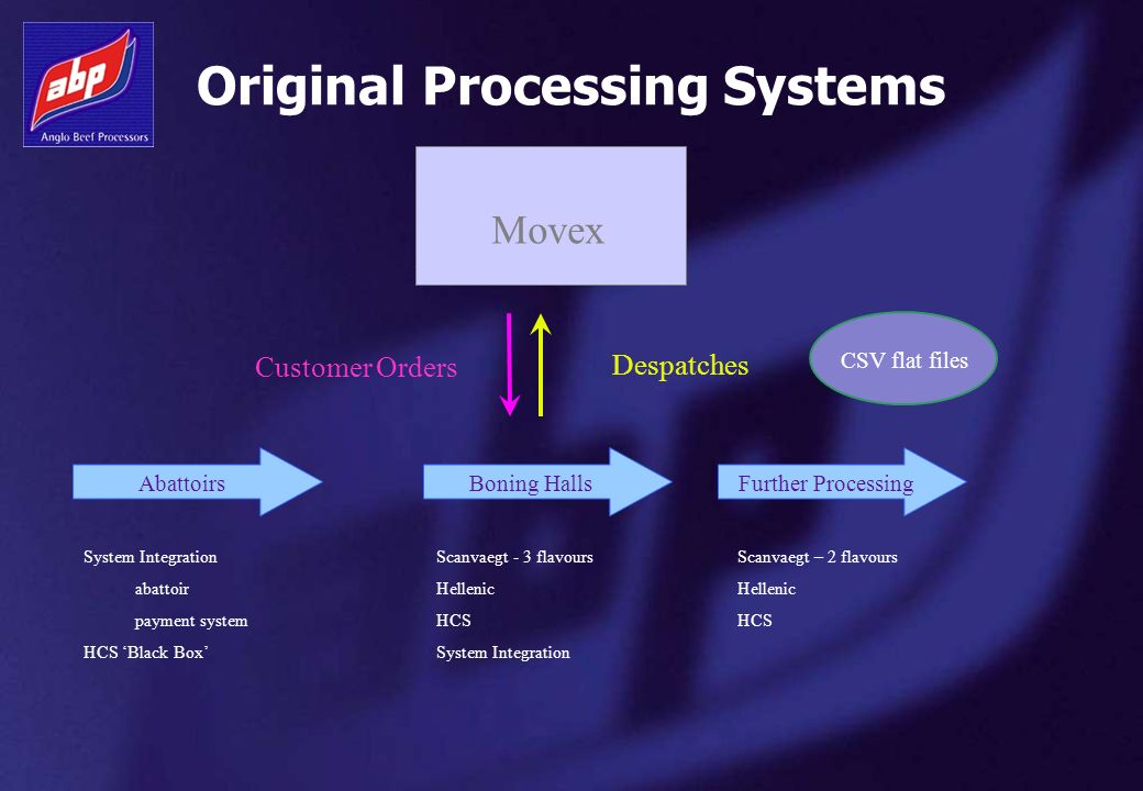 Original Processing Systems