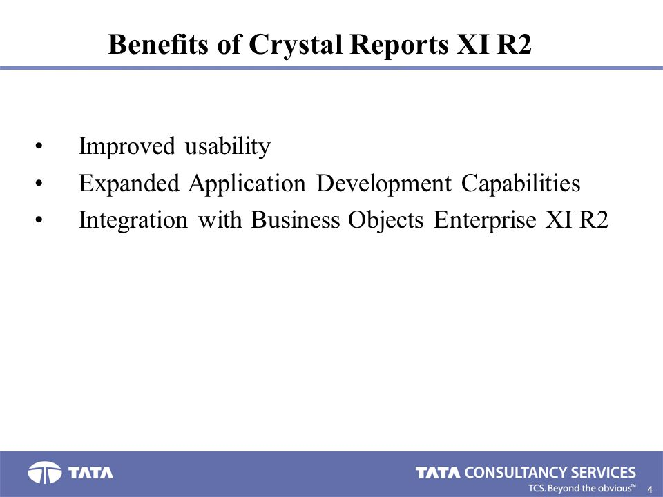 CRYSTAL REPORTS XI R2  - ppt download