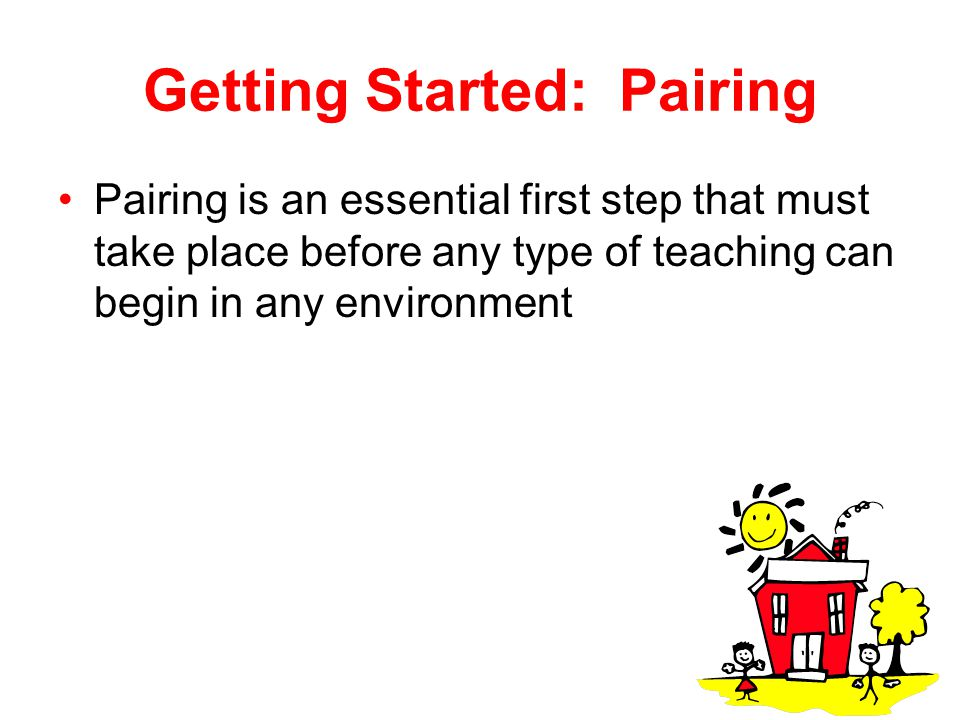 Getting Started: Pairing