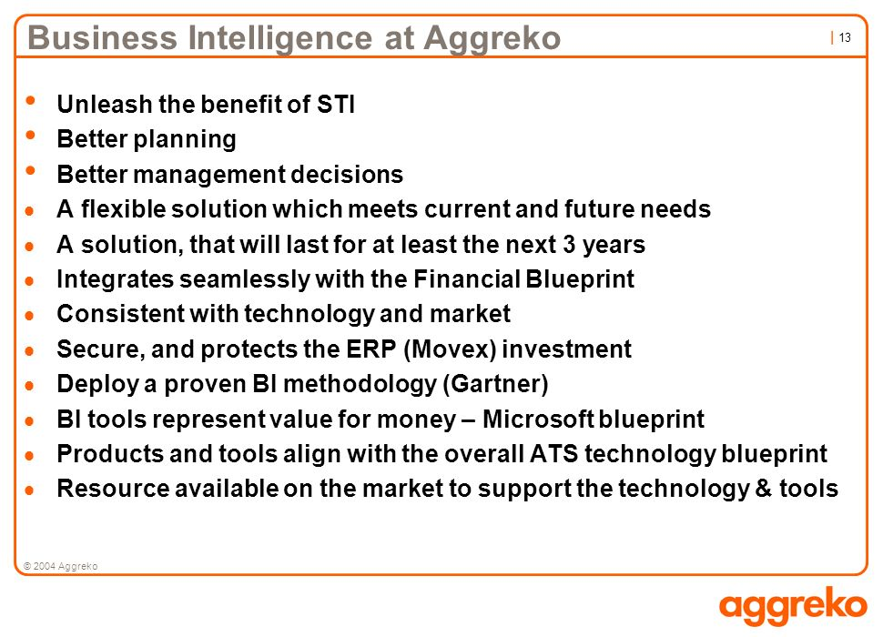 Business Intelligence at Aggreko