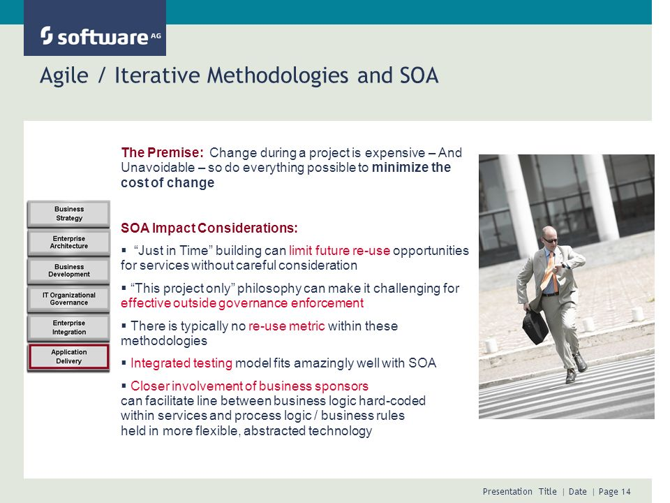 Agile / Iterative Methodologies and SOA