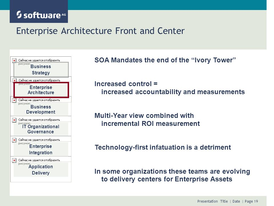 Enterprise Architecture Front and Center