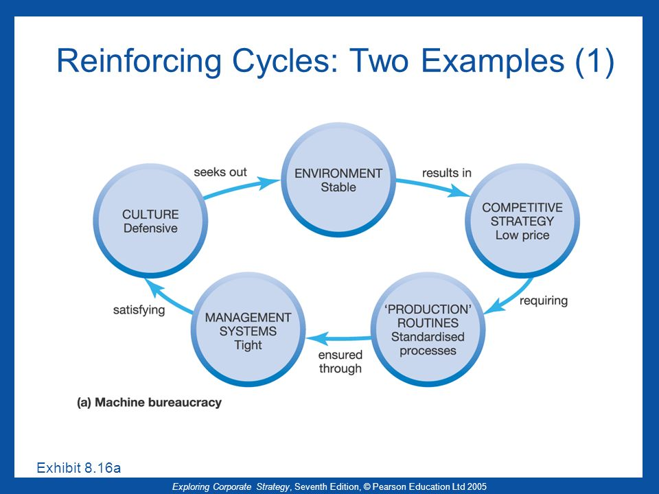 Reinforcing Cycles: Two Examples (1)