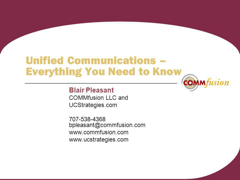 Unified Communications – Everything You Need to Know