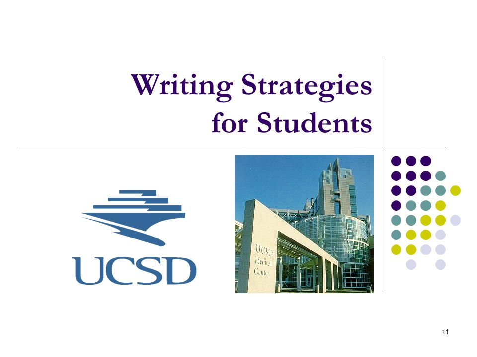 Writing Strategies for Students