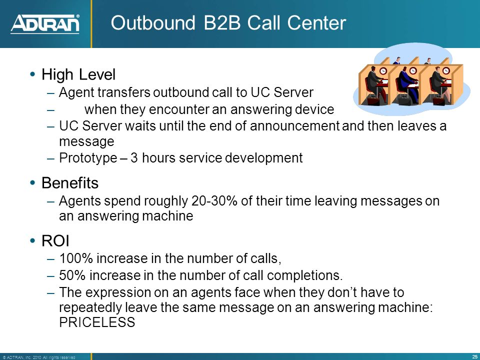 Outbound B2B Call Center