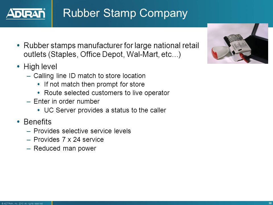 Rubber Stamp Company Rubber stamps manufacturer for large national retail outlets (Staples, Office Depot, Wal-Mart, etc...)