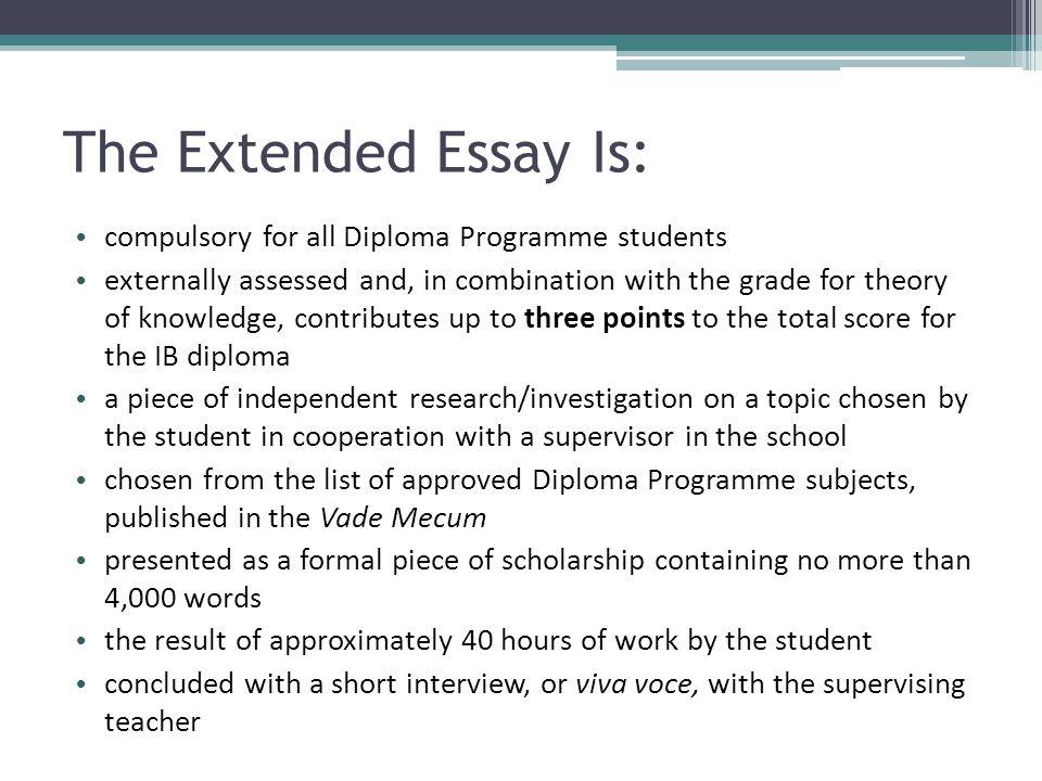 ib extended essay topics english b  mistyhamel international baccalaureate the extended essay ppt english b extended  essay topics