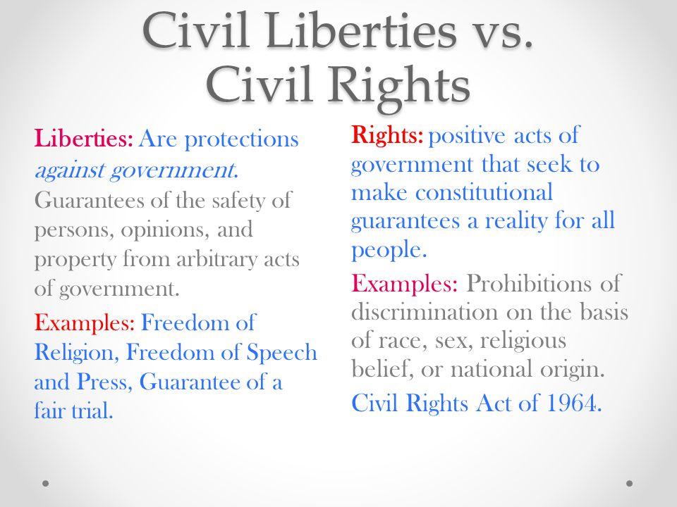 Freedom vs safety essay
