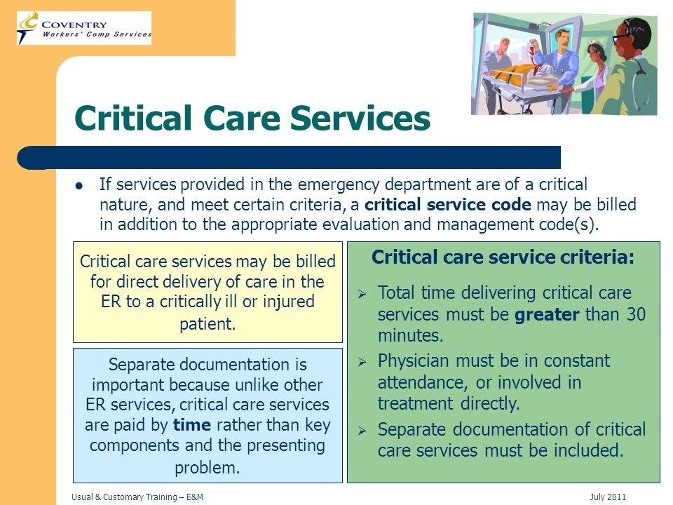 Critical Care Services