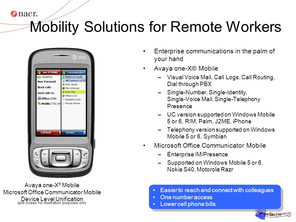 Mobility Solutions for Remote Workers