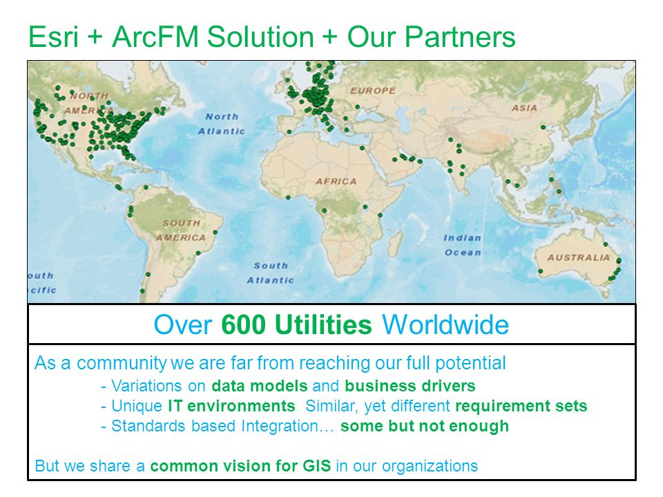 Esri + ArcFM Solution + Our Partners