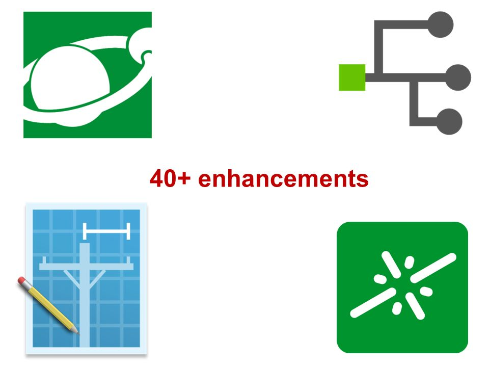 40+ enhancements Not only its packed full of small enhancements but..