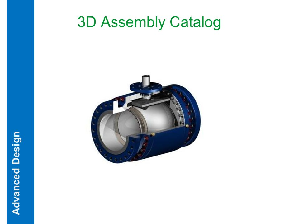 Advanced Design 3D Assembly Catalog