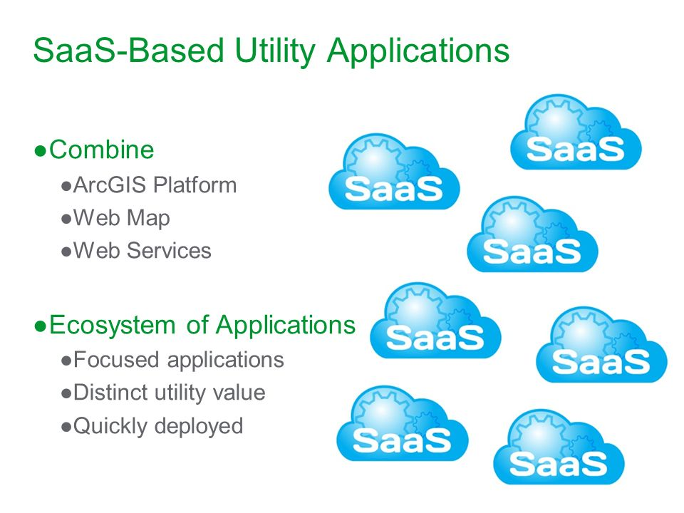 SaaS-Based Utility Applications