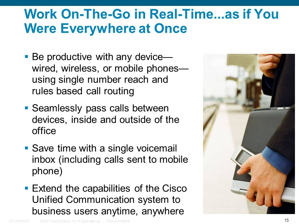 Work On-The-Go in Real-Time...as if You Were Everywhere at Once