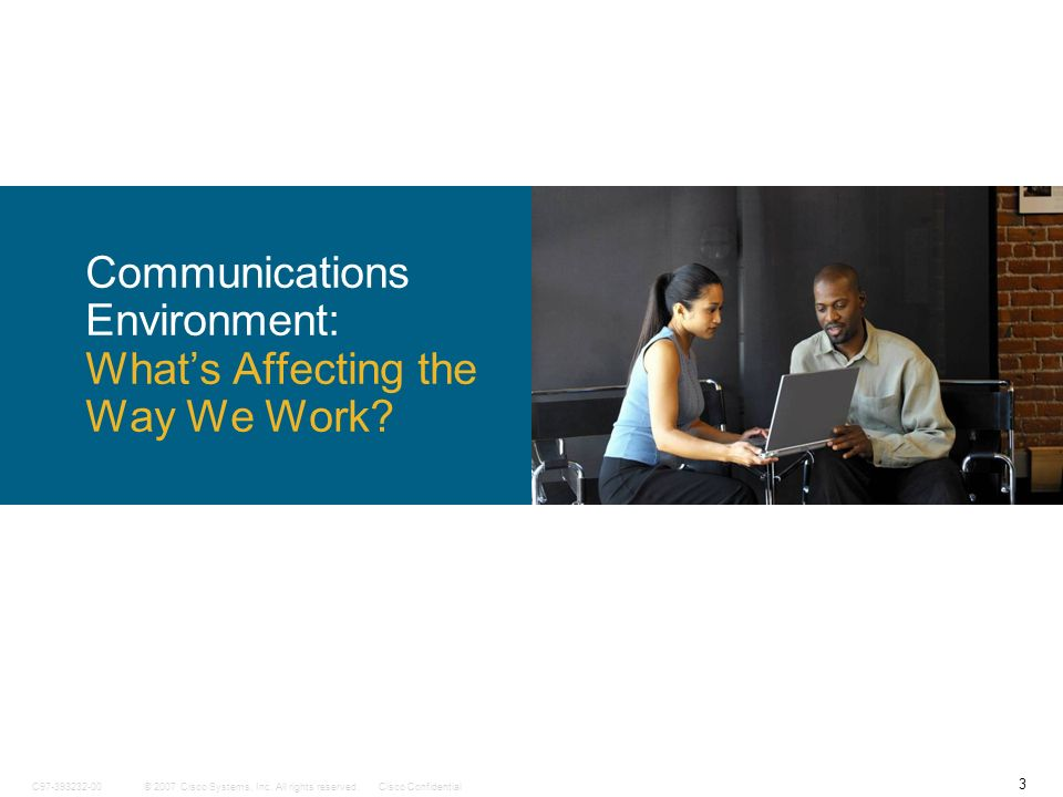 Communications Environment: What's Affecting the Way We Work