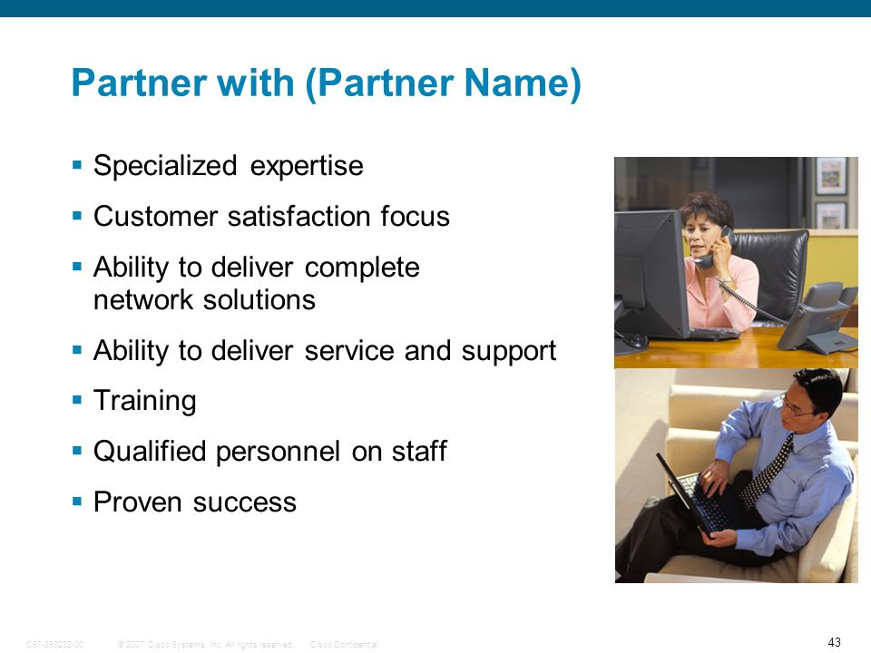 Partner with (Partner Name)