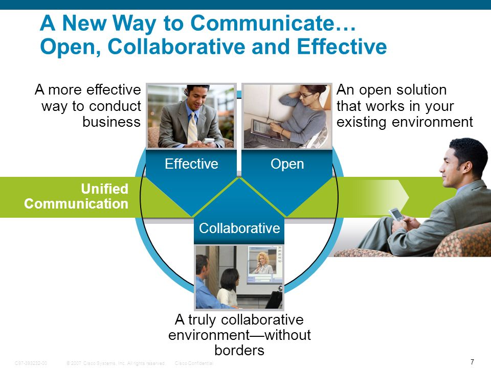 A New Way to Communicate… Open, Collaborative and Effective