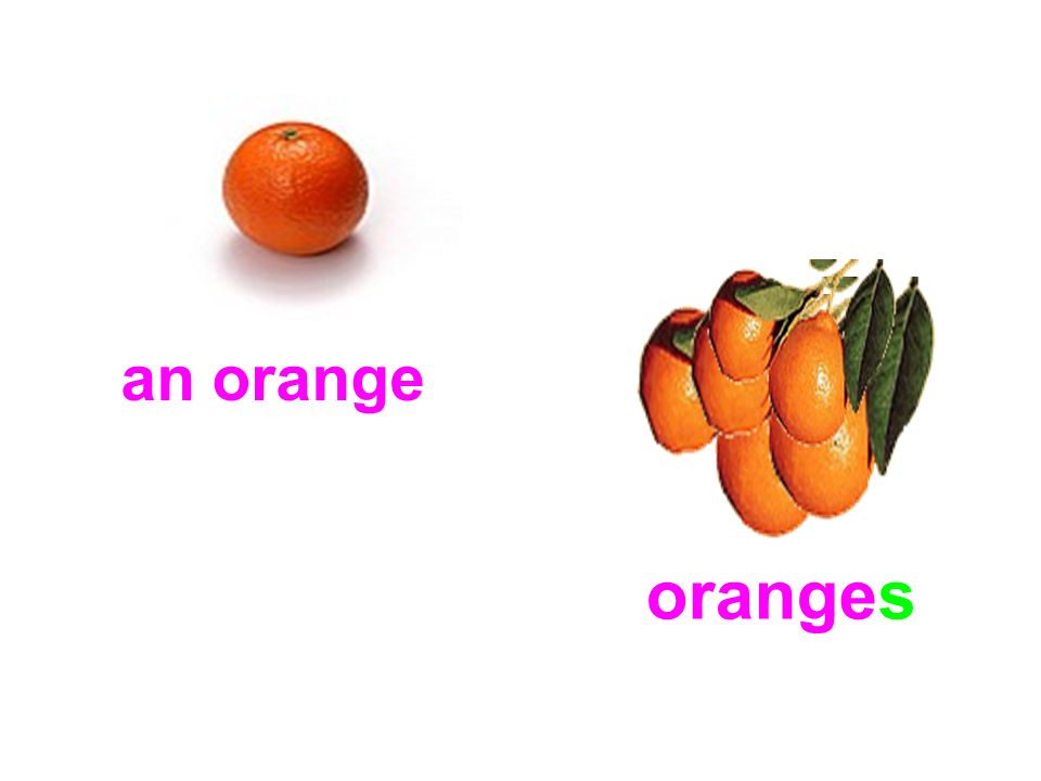 an orange oranges