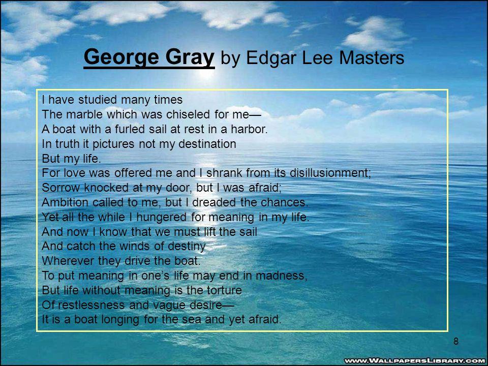 george gray poem