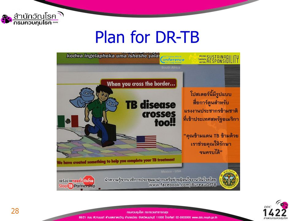 Plan for DR-TB