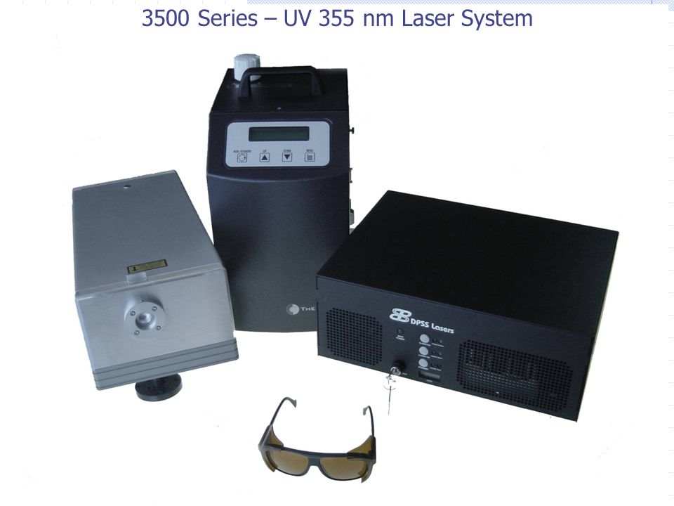 3500 Series – UV 355 nm Laser System
