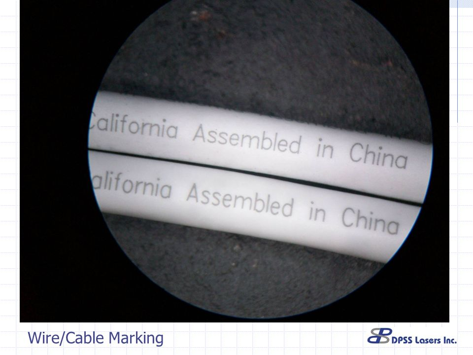 Wire/Cable Marking